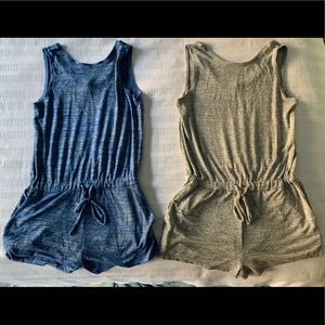 Super soft Gap rompers with pockets.
